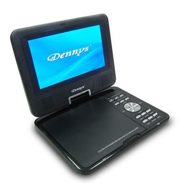 DennysRM/多媒體可攜式7吋行動DVD