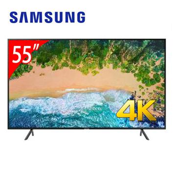 【展示機】SAMSUNG 55型4K智慧連網電視(UA55NU7100WXZW)