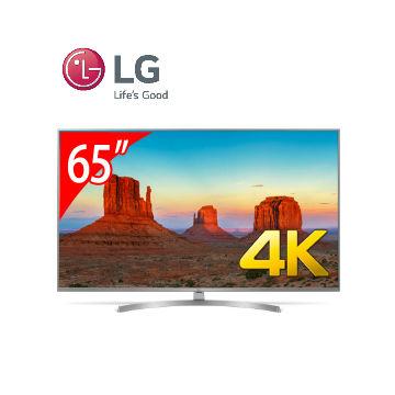 【展示機】LG 65型廣角4K IPS智慧連網電視(65UK6540PWD)