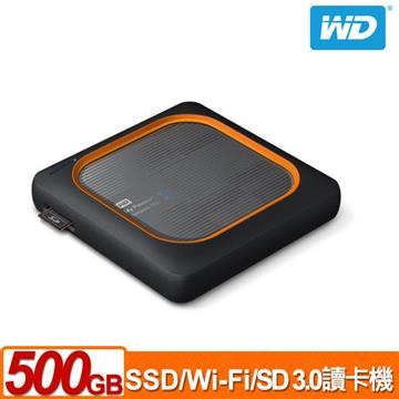 WD My Passport Wireless 500G外接固態硬碟