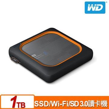WD My Passport Wireless 1TB 外接固態硬碟