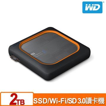 WD My Passport Wireless 2TB 外接固態硬碟