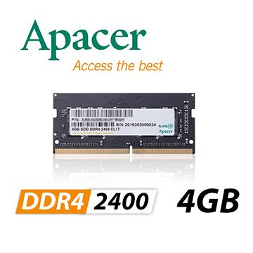 APACER So-Dimm DDR4-2400/4G