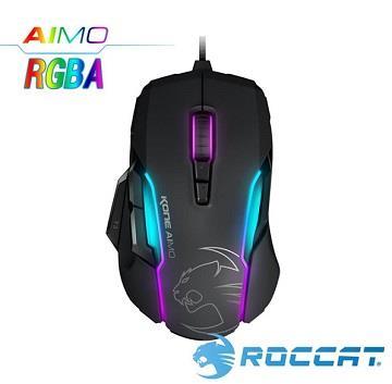 ROCCAT Kone-AIMO魔幻系列RGBA電競滑鼠-黑