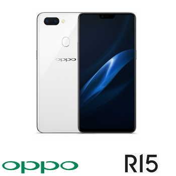 【6G / 128G】 OPPO R15 6.28吋19:9智慧型手機 - 雪盈白