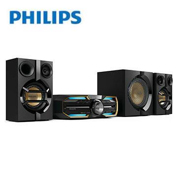 [優質福利品]PHILIPS2.1NFC/BT/DVD組合音響