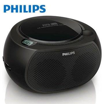 PHILIPS黑炫風USB/MP3手提CD音響