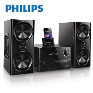 [優質福利品]PHILIPS藍牙/USB/DVD/FM組合音響