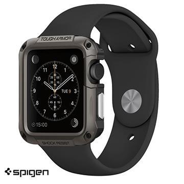 【42mm】SGP AppleWatch 軍規認證防震保護殼 - 灰色