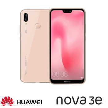 【4G / 64G】HUAWEI 華為 nova 3e 5.84吋全面屏雙鏡頭智慧型手機 - 櫻語粉
