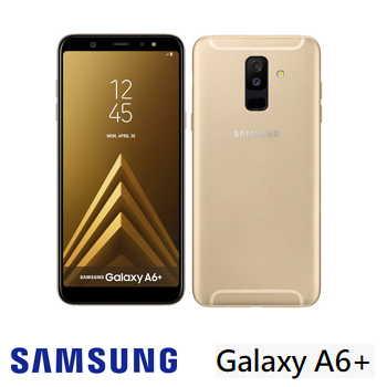 【4G / 32G】SAMSUNG Galaxy A6+  6吋八核心智慧型手機 - 金色