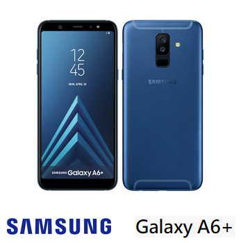 【4G / 32G】SAMSUNG Galaxy A6+  6吋八核心智慧型手機 - 藍色