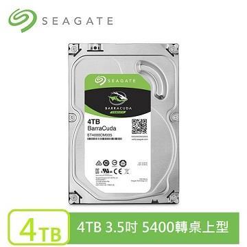 Seagate 新梭魚 3.5吋 4TB SATA桌上型硬碟