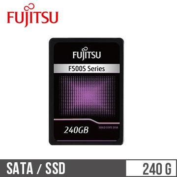 【240G】Fujitsu 2.5吋SSD固態硬碟(F500S系列)(F500S-240GB)