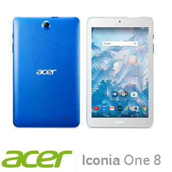 「展示品」【WiFi版】宏碁 Acer Icoina One 8 16G平板電腦 - 藍色(B1-860A-K3KH藍)