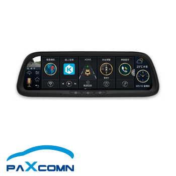 沛視界 Paxcomn Ai車雲鏡 後視鏡型行車紀錄導航儀