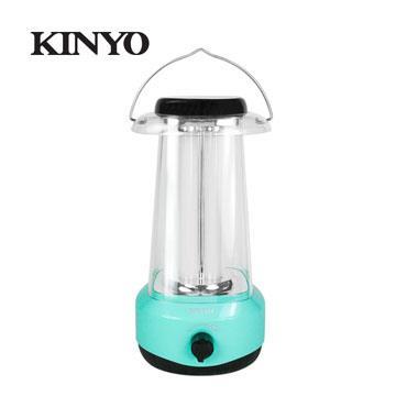 KINYO 調光式太陽能多合一露營燈