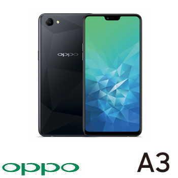 【4G / 128G】OPPO A3 6.2吋19:9 全螢幕智慧型手機 - 鑽石黑