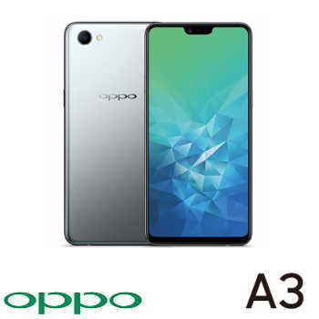 【4G / 128G】OPPO A3 6.2吋19:9 全螢幕智慧型手機 - 銀色