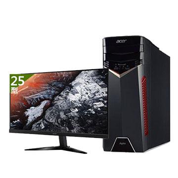 【同捆組】Acer GX-785 7代i5 GTX1050Ti 桌上型主機+【25型】ACER KG251Q 電競螢幕