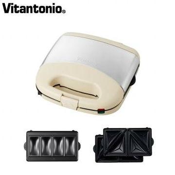 Vitantonio鬆餅機-象牙白(限定版小v鬆餅機)