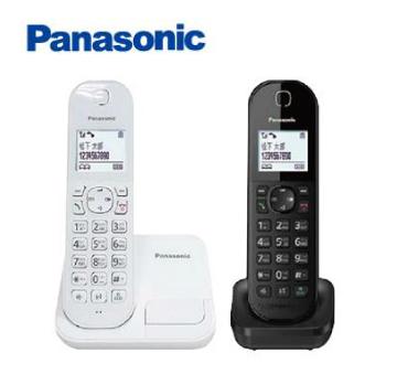 Panasonic中文輸入數位無線電話(白+黑)