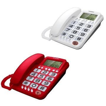 WONDER 大鈴聲大聲音有線電話(WT-06)