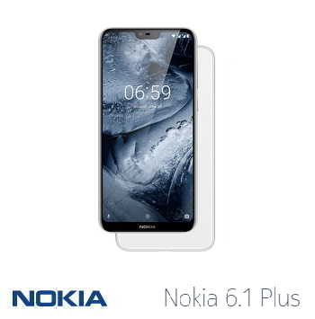 【4G / 64G】NOKIA 6.1 Plus 5.8吋 Android One智慧型手機 - 白色