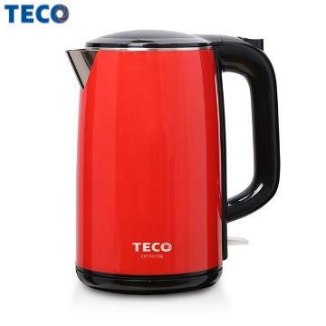 TECO 1.7L雙層防燙不鏽鋼快煮壺