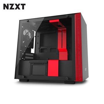 NZXT恩傑 H200 MINI-ITX 電腦機殼-紅