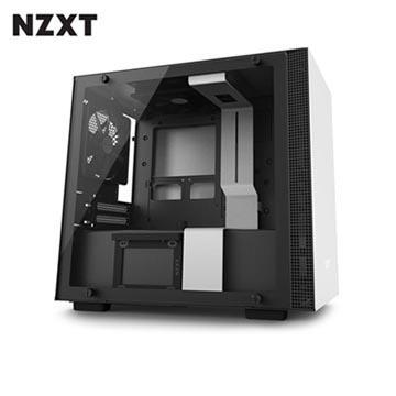NZXT恩傑 H200 MINI-ITX 電腦機殼-白