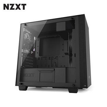 NZXT恩傑 H400 MICRO-ATX 電腦機殼-黑