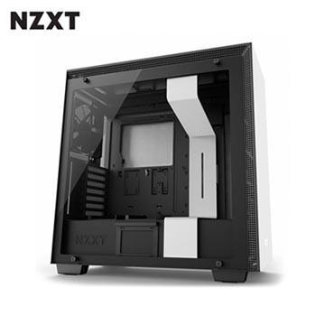 NZXT恩傑 H700 MID-TOWER 電腦機殼-白