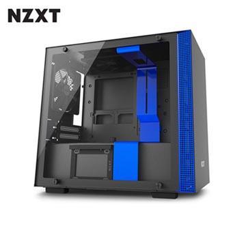 NZXT恩傑 H200 MINI-ITX 電腦機殼-藍