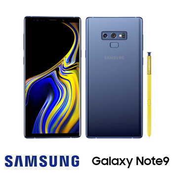 「快三早鳥預購方案」【6G / 128G】 SAMSUNG Galaxy Note9 6.4吋旗艦智慧型手機 - 湛海藍