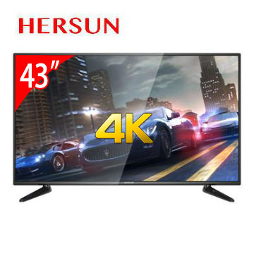 HERSUN 43型4K多媒體液晶顯示器(YC-4363UHD)
